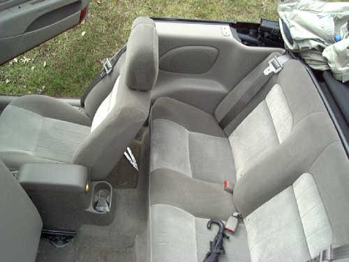Cloth Seats!