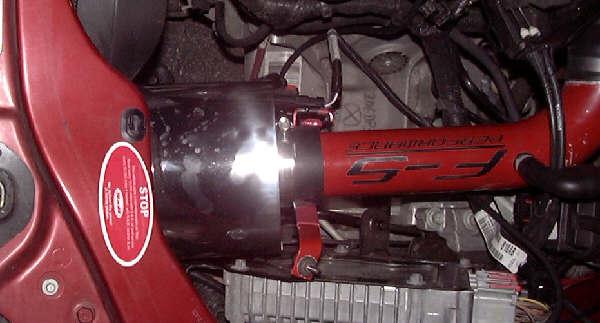 Installation of F-5 Performance Short Ram Induction Tube, Version 3, With Heatshield