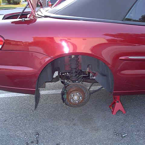 Right Rear Disc Brake Assembly