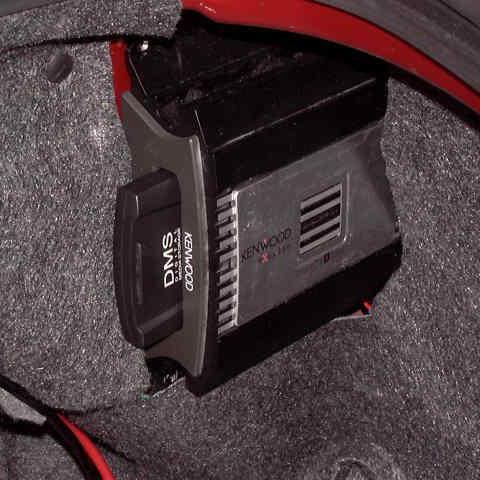 Close-Up of Kenwood Music Keg