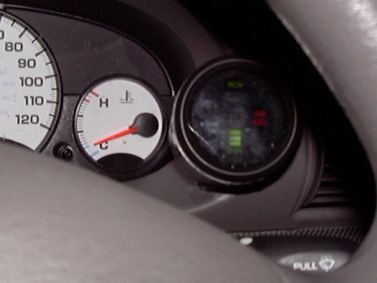 Air/Fuel Ratio Gauge Installation for Right-Hand Cylinder Bank