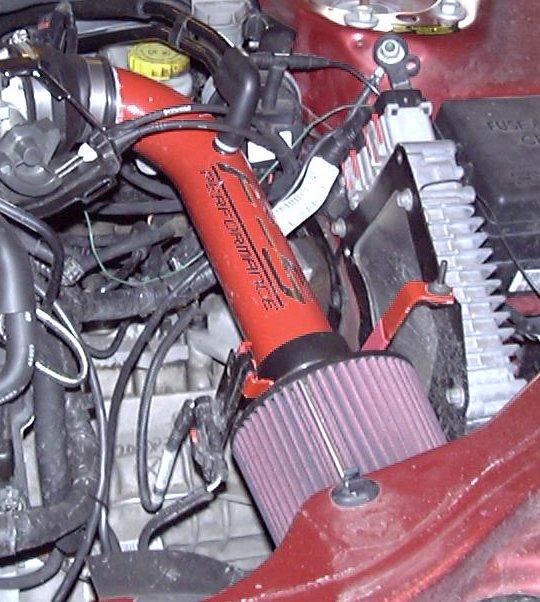 Installation of F-5 Performance Short Ram Induction Tube, Version 2