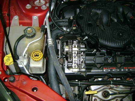 Backfire-induced Valve Cover Damage