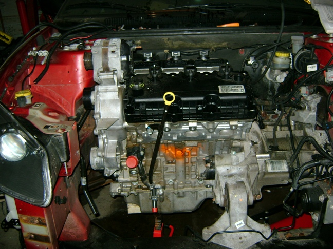3.5L Engine Initial Installation