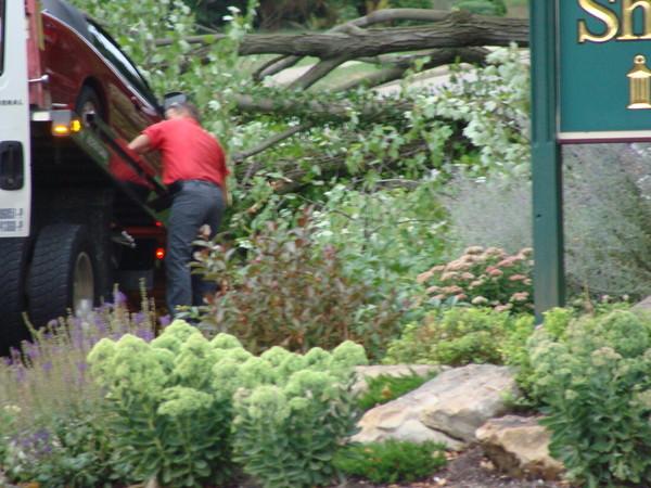Car Being Towed Away