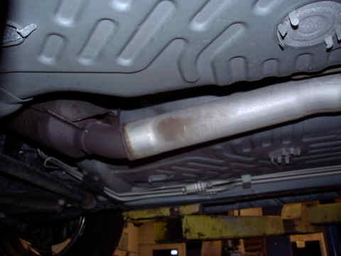 Catalytic Converter (Stock) View - Side