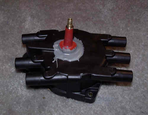 Figure 7: Completed Distributor Cap Modification